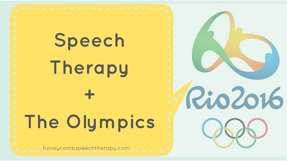 Instant Resource: The Olympics! (Inspiration for Speech Therapy)