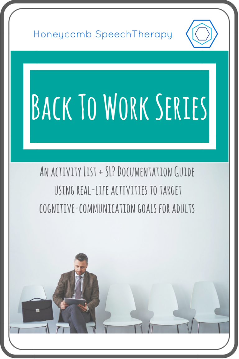 The Back To Work Series!