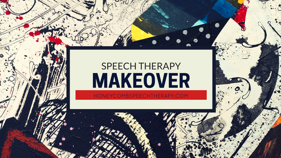 Speech Therapy Makeover: Card Game Homework