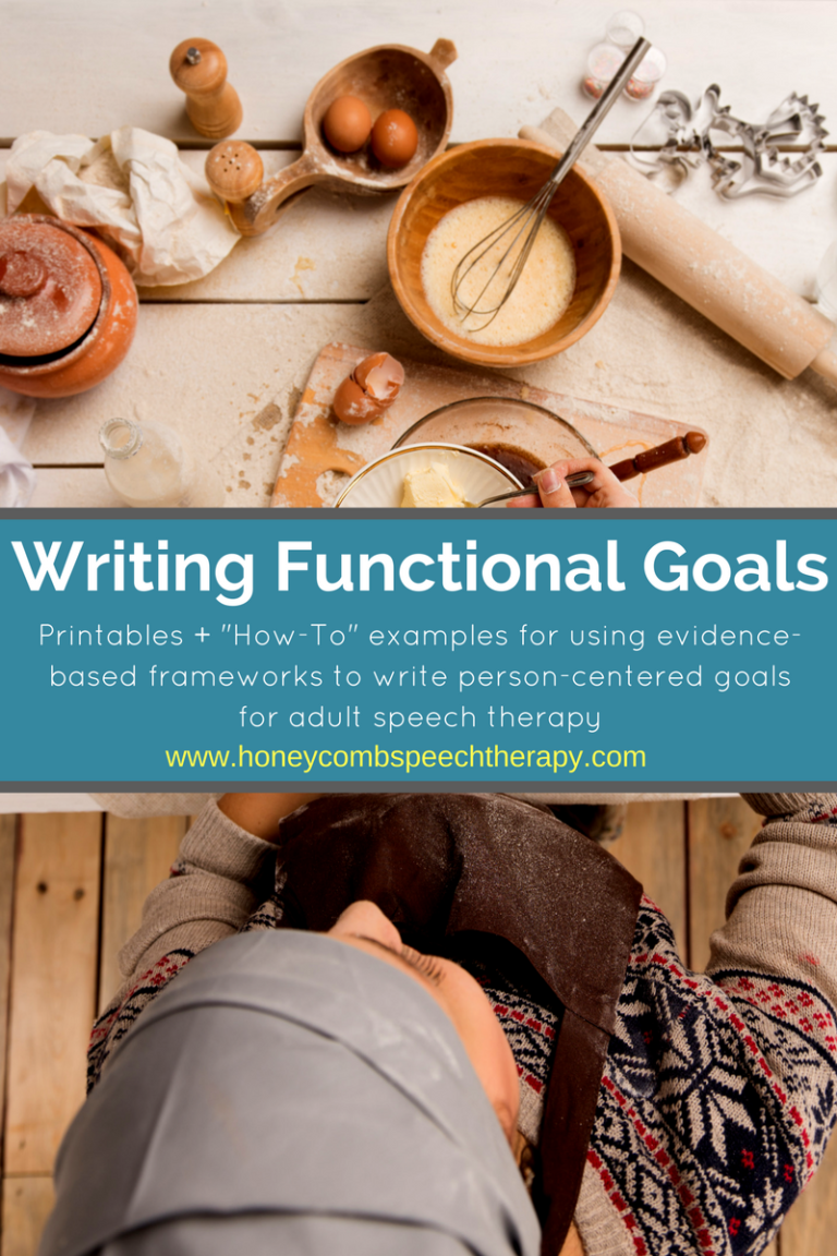 Writing Functional Goals