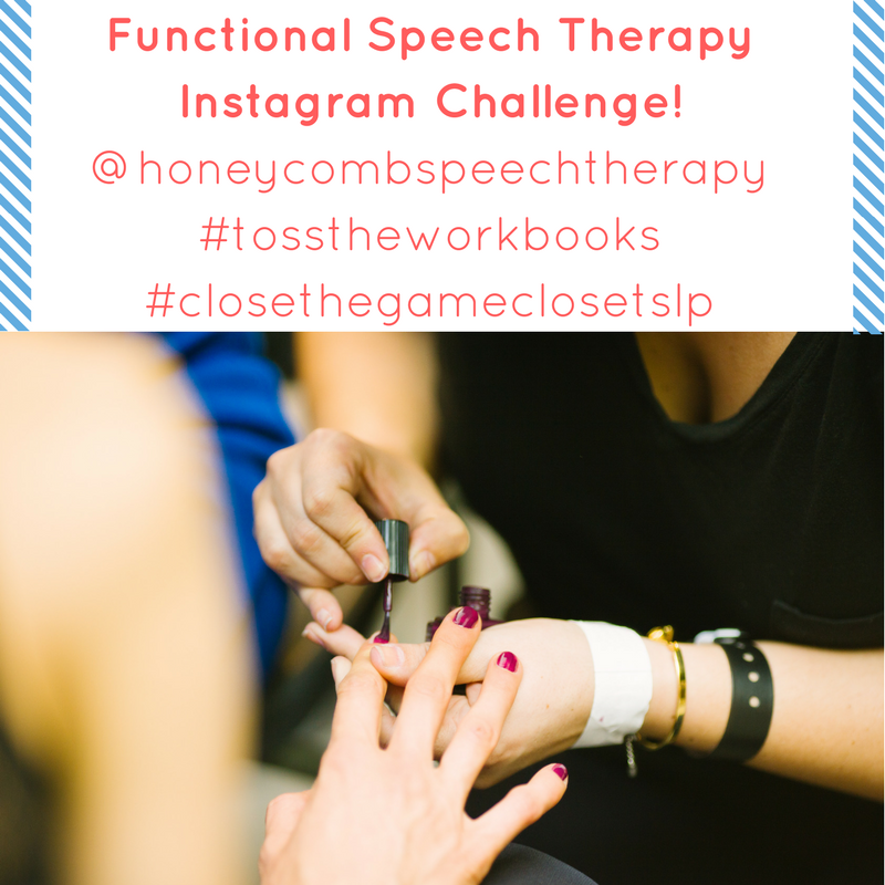 Nail Salon: Real Life Speech Therapy
