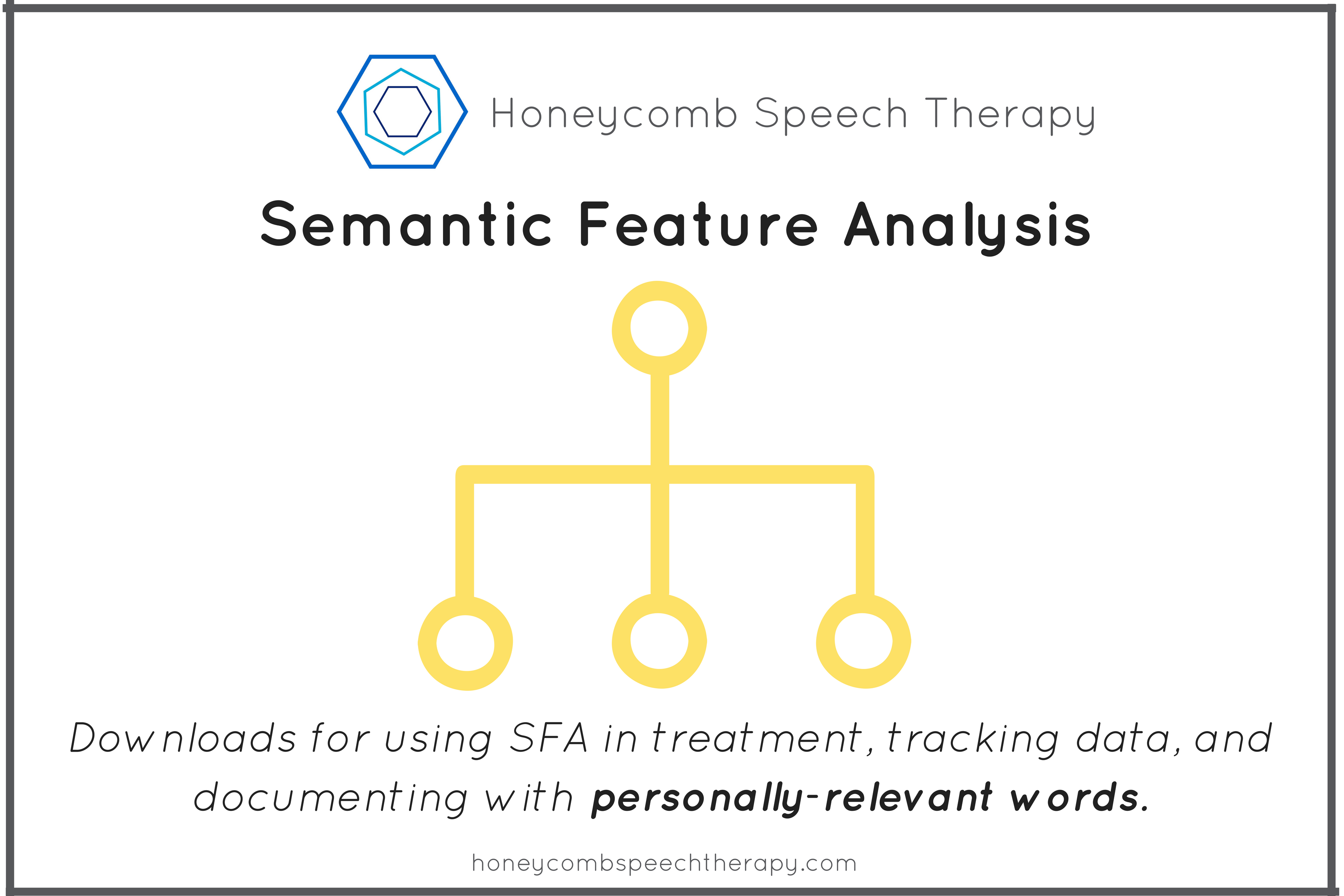 One Click: Semantic Feature Analysis