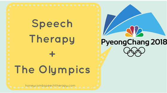 Real Life Speech Therapy: Olympics 2018
