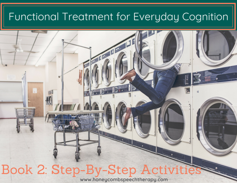 Functional Cognition: Book 2- Step By Step Activities