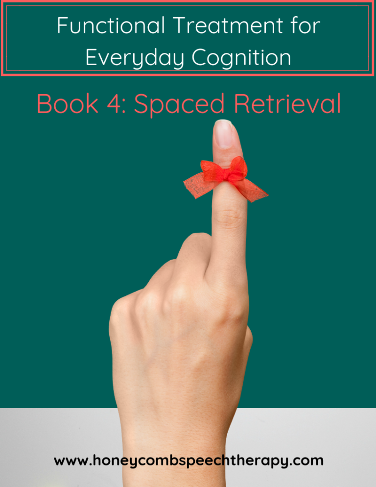 Functional Cognition: Book 4 – Spaced Retrieval