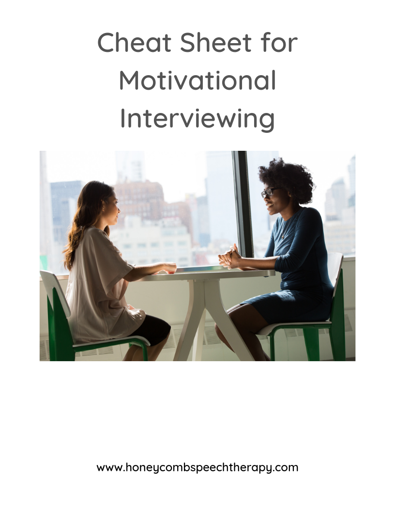Discovering Functional Needs: Motivational Interviewing