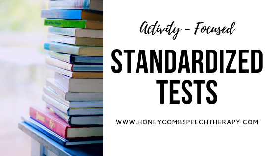 Discovering Functional Needs: Standardized Tests