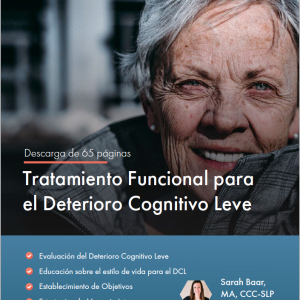 Functional Treatment for Mild Cognitive Impairment