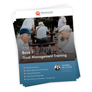 Functional Cognition: Book 1 – Goal Management Training
