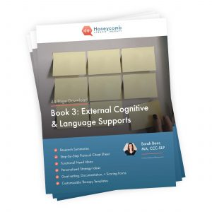 Functional Cognition: Book 3 – External Cognitive & Language Supports