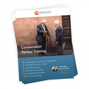Conversation Partner Training