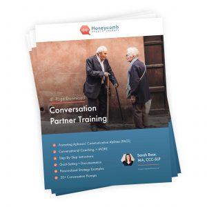 Conversation Partner Training