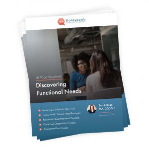Discovering Functional Needs
