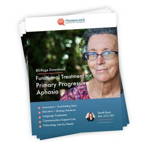 Functional Treatment for Primary Progressive Aphasia